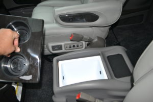 Center Ice Chest, take some Drinks keep them Ice Cold. Explorer Van Company