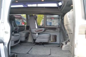 Explorer Van 2018 interior