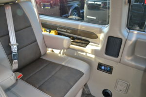 Explorer van rear Seating