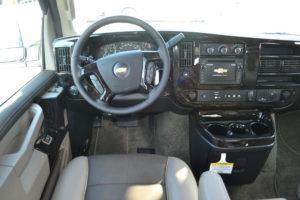 Explorer Van Front Seating