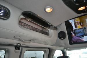 Lighted Storage Cabinet Explorer Hi top van