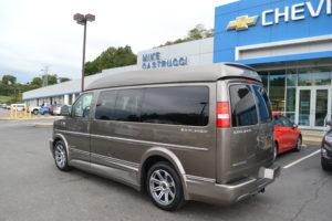 Explorer Hi top Van