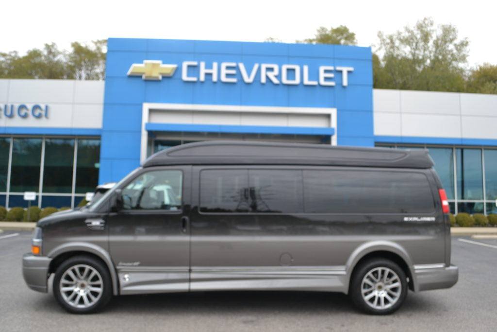 2019 Chevrolet Express 9 Passenger Explorer Conversion Van Limited X-SE  Mike Castrucci Conversion Van Land
