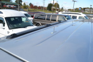 Lo pro roof rack system by ProRac Express Van