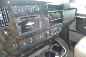 GM Infotainment System Explorer Van Conversion
