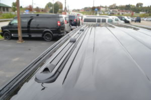 Pro Tracks consists of two tracks mounted to the roof top of the van providing a sleek finished look to the top. The Lo-Pro comes complete with sliding Tie Downs, and Cross-Bar Anchors. ProRac Pro-File Cross-Bars can be added to the Lo-Pro Tracks providing a fully functional roof rack capable of carrying any of the ProRac application products.