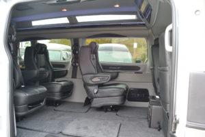 Explorer Van Transit Interior