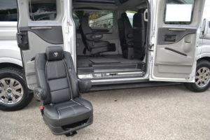 Quick realese Seats Explorer Van