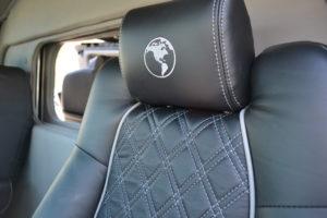 Explorer Diamond Pattern Seat stitching