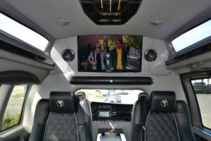 JBL Soundbar for your listening Enjoyment, Explorer Executive Travel Van