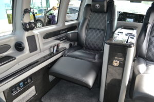 Explorer Van Power Footrest Seat