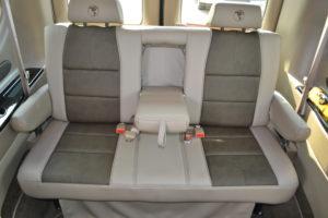 Rear Sofa Explorer Van interior