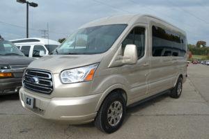 Ford Transit 9 Passenger Conversion Van Explorer Van Company