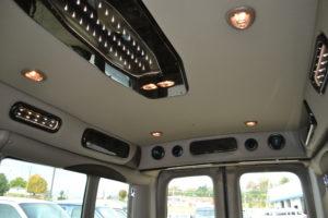 Ford Transit interior by Explorer Van Company
