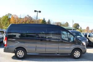 Transit vans by Explorer Van Company