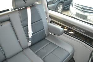 Interior 9 Passenger Conversion Van