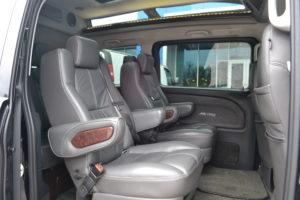 Mercedes Metris Conversion Van, Comfortable Seating for Adults