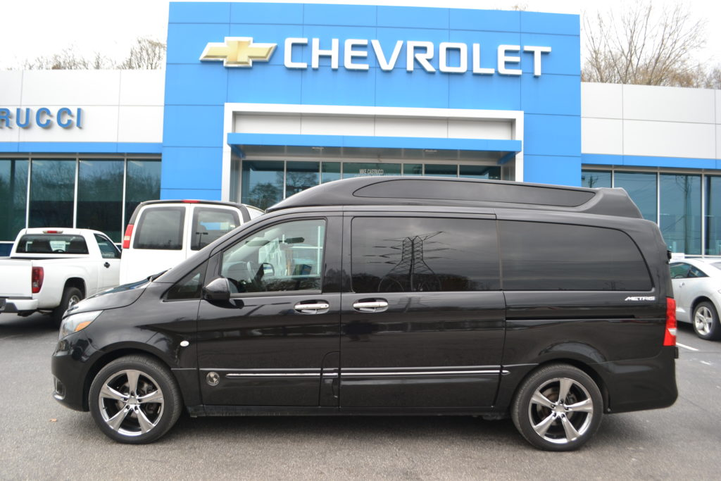 Black mercedes metris by explorer van co