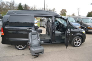 Metris Conversion Van by Explorer Van Company