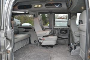 Removable Chairs Explorer Van