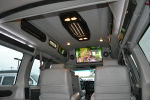 Explorer Van interior 2011 AWD