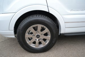 16 in Chrome Wheels with Premium Michelin Tires