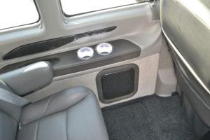 2020 Window Ledges Explorer Van interior