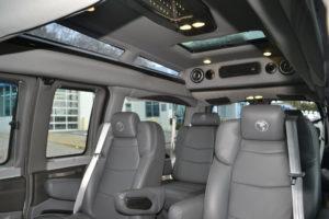 2020 Explorer Van options