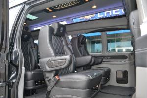 Explorer Van Seating 2019
