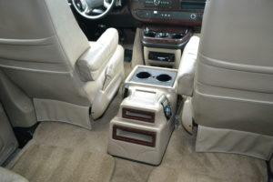 2011 Explorer Van interior