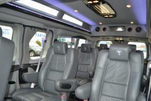 Ford Transit Conversion Van Interior