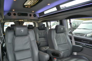 Executive Travel, Comfortable Seating for Adults in every seat