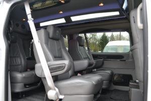 Explorer Van Ford Transit Seating