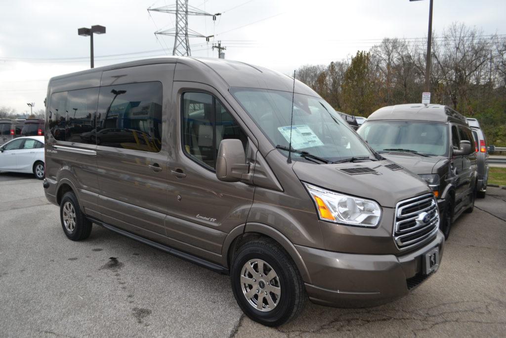 Mike Castrucci Ford >> 2019 Ford Transit 250 MR 9 Passenger - Explorer Limited SE ...