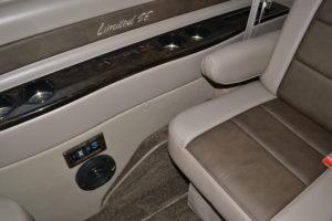 Explorer Van Ford Transit interior