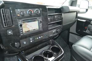 GM Navigation Screen Explorer Conversion van