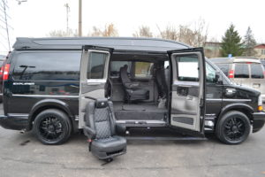 Explorer Van Removable Seating