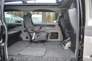 Explorer 4x4 Van Interior