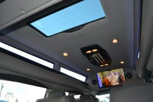 Explorer Van interior