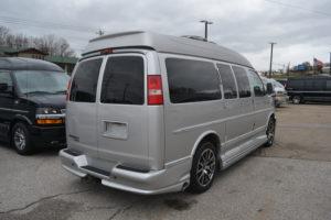 All Wheel Drive Explorer Vna Conversion Van land