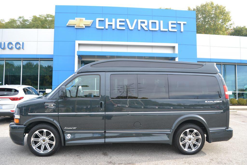 2017 Chevrolet Express Explorer Limited X-SE Conversion Van Graphite Metallic Conversion Van Land