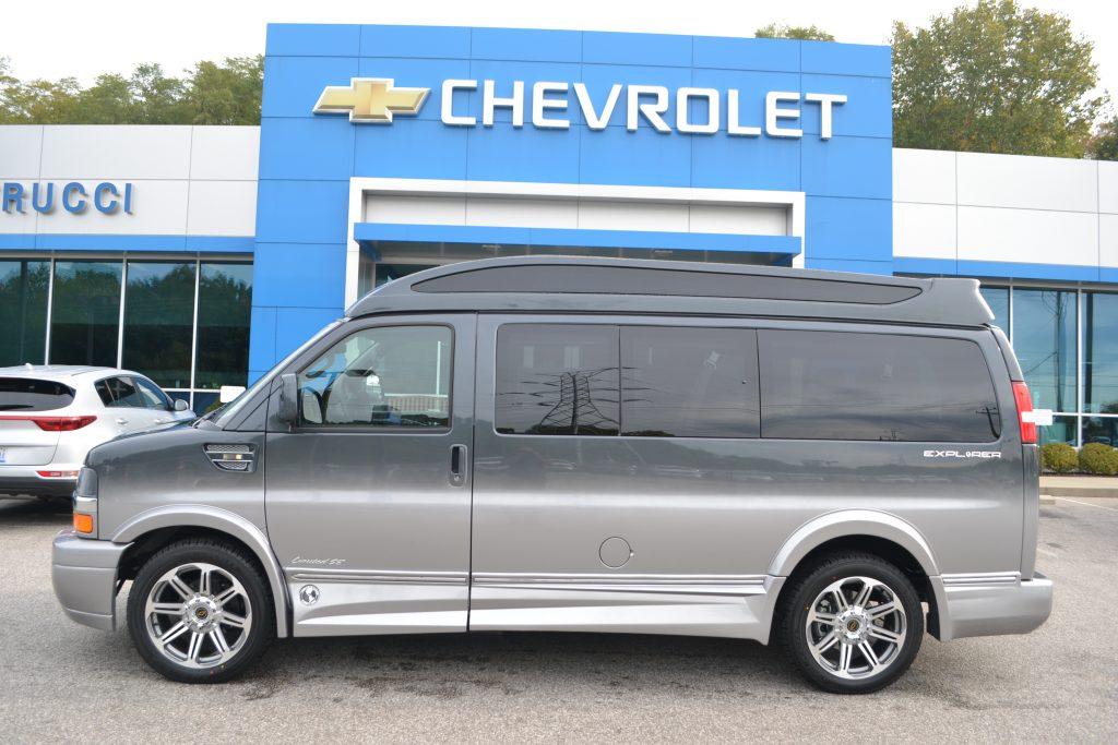 2017 Chevrolet Express Explorer Limited X-SE Graphite Metallic Fade Conversion Van Land
