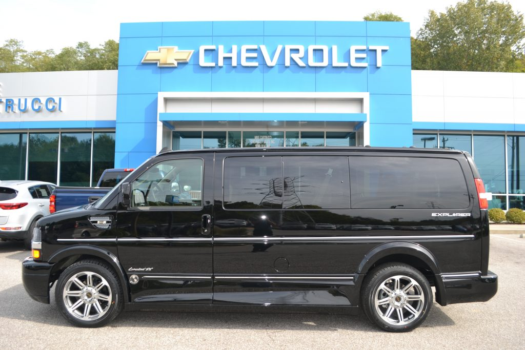 2017 Chevrolet Express Explorer Limited X-SE Black Low-Top Conversion Van Land