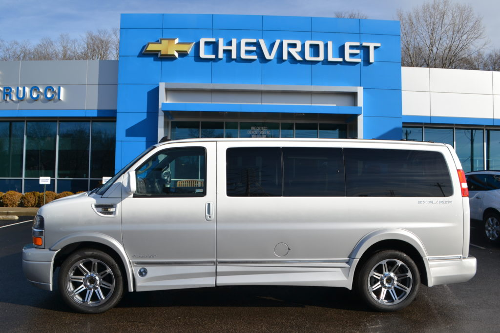 2017 Chevrolet Express Explorer Limited X-SE Mike Castrucci Chevrolet Conversion Van Land H1287671