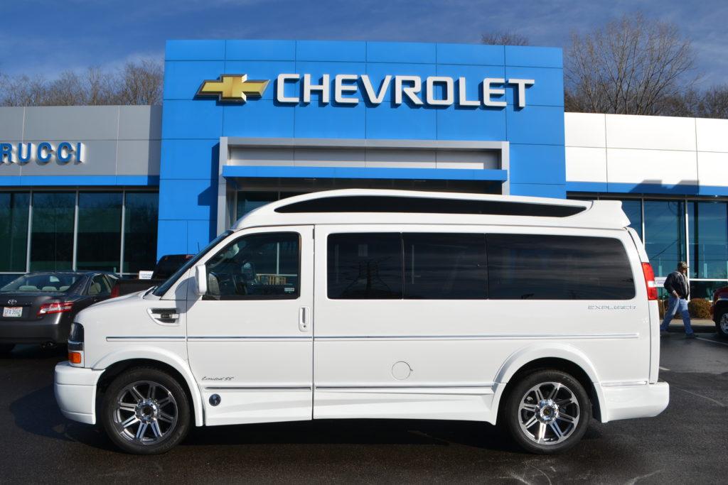 2017 Chevrolet Explorer Explorer Limited X-SE VC White H1216475 Mike Castrucci Chevrolet Conversion Van Land