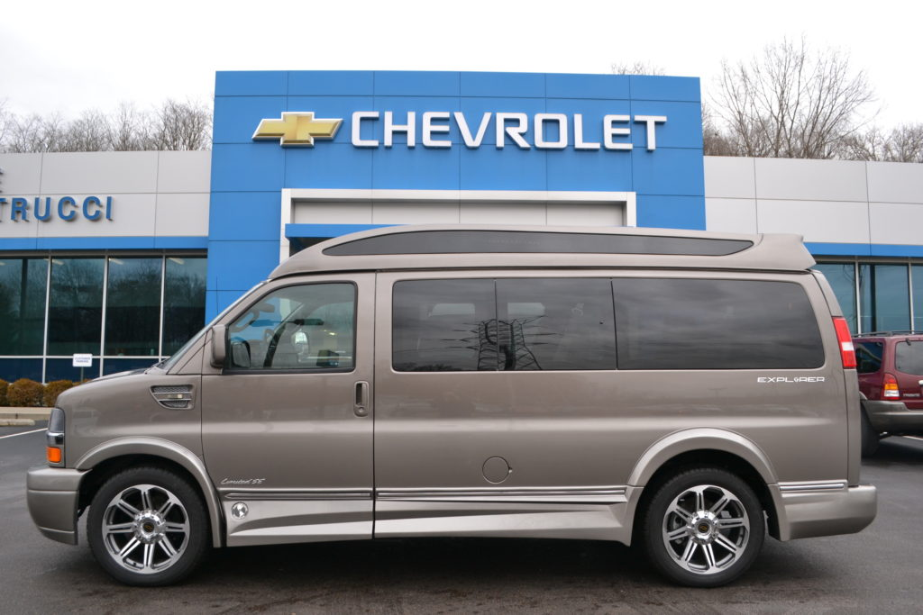 2017 Chevy Express 2500 Explorer Limited X SE VC Mike