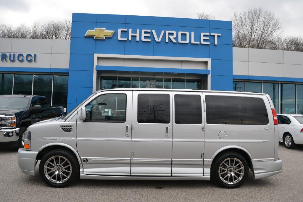2014 Chevrolet Express Explorer Limited X-SE Low Top Conversion Van Silver Ice Metallic Conversion Van Land E1159212