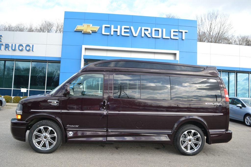 2017 Black Rose Metallic Explorer Conversion Van  H1132644 Conversion Van Land