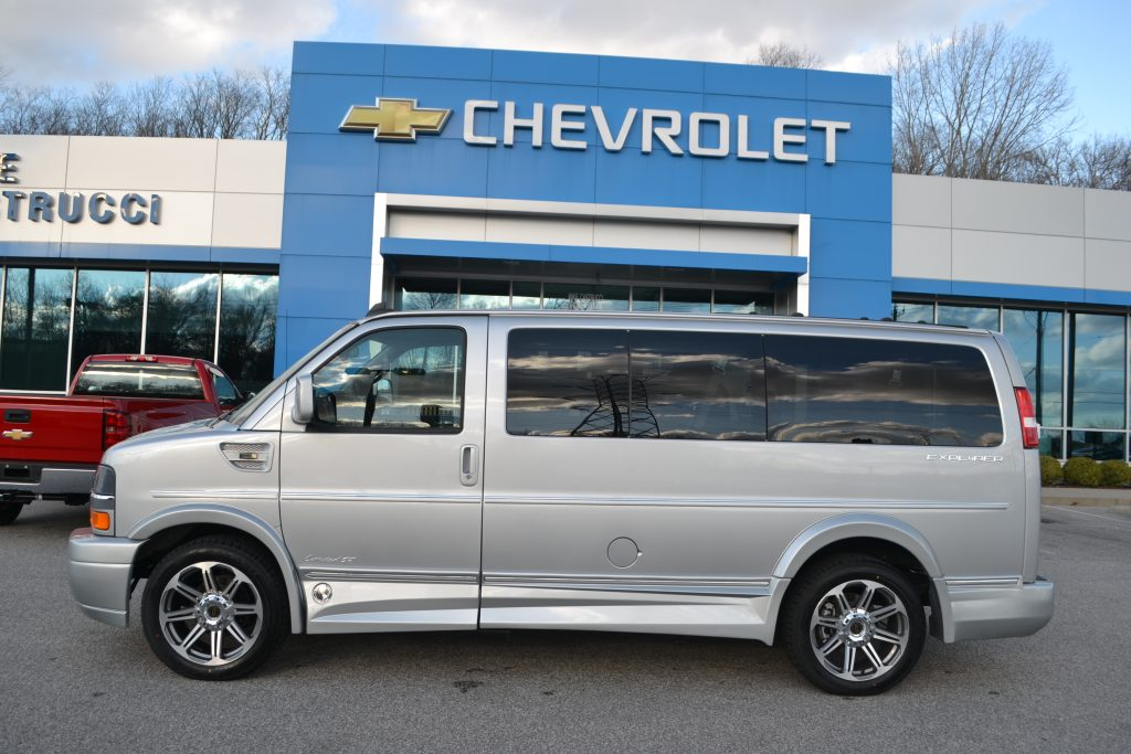 2017 Chevrolet Express Silver Ice Metallic Conversion Van land