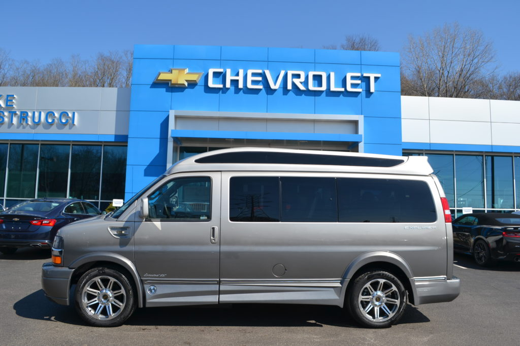 2017 Chevrolet Express Explorer Limited X-SE Silver Birch Fade Mike Castrucci Chevrolet Conversion Van Land H1277917